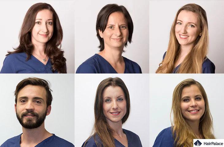 medici di impianti di capelli HairPalace